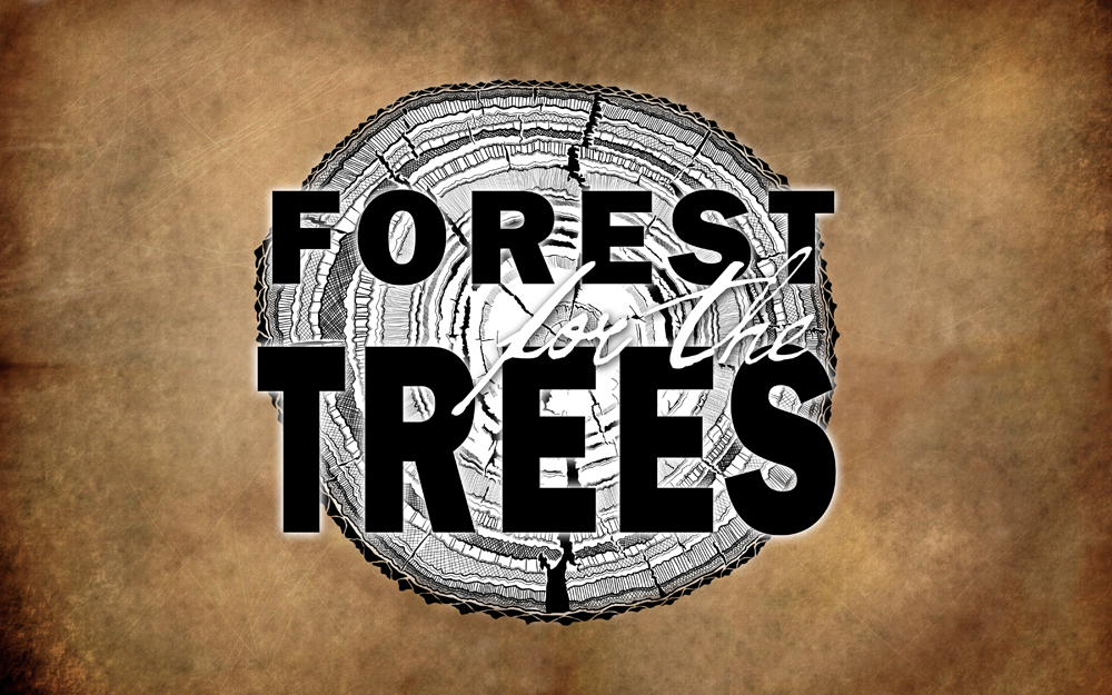 Forest for the Trees - Stump Logo